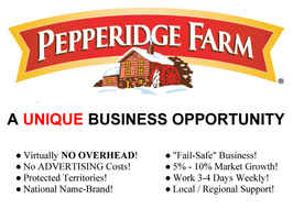 Pepperidge Farm Lancaster & Palmdale Route Sale!