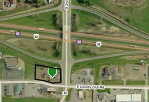 Reduced! Commercial Lot | One Acre | Just off I-94