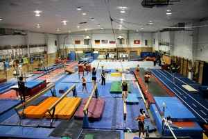 Professional Gymnastics Training Facility