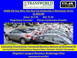 43382-CW Buy Here, Pay Here Car Dealership