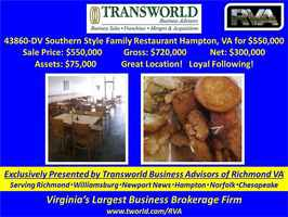 43860-DV Southern Style Family Restaurant