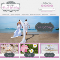 ModernBeachWedding.com Internet Business