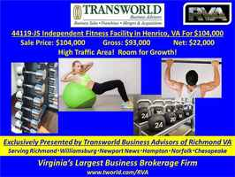 44119-JS Independent Fitness Facility in Henrico