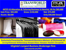 44737-JS Alteration & Tailoring Business