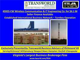 45925-CW Wireless Communication & IT Engineering