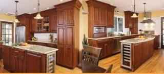Granite Fabrication Kitchen Cabinets w/ Prop-27676