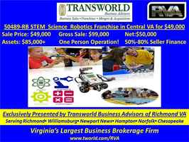 STEM / Science/Robotics Franchise Resale 50489-RB