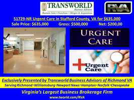 51729-NR Urgent Care, Stafford County, VA