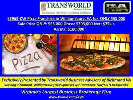 "53969-CW ""Established Franchised Pizza Business."""