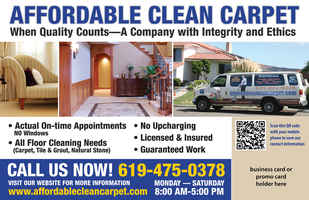 Carpet and Upholstery cleaning and location