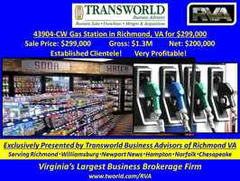43904-CW Gas Station in Richmond, VA for $299,000