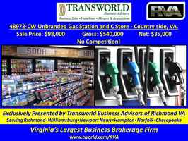 48972-CW. Unbranded Gas Station and C Store