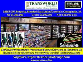 58367-CW Branded Gas Station/C-store in Chesapeake