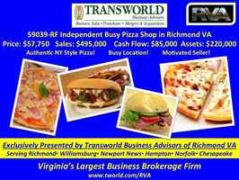 59039-RF Independent Busy Pizza Shop in Richmond