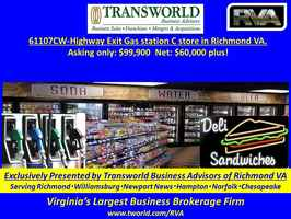 61107CW-Highway Exit Gas station C store