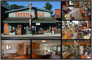 Totem Pole Retail Store & Apartments in Nisswa