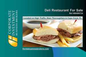 Deli Restaurant For Sale in Lee County