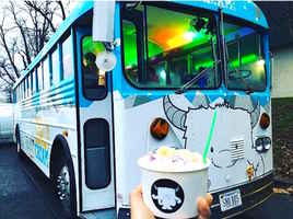 Popular Shaved Ice & Boba Tea Bus for Sale!