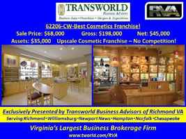 62206-CW-Best Cosmetics Franchise!