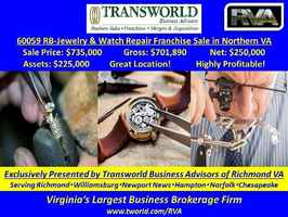 Jewelry & Watch Repair Franchise - 60059 RB