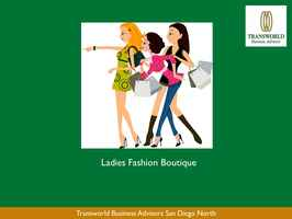 Ladies Fashion Boutique – Premier Coastal Town