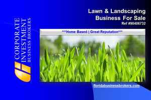 Lawn and Landscaping Business For Sale