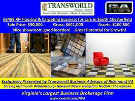 Flooring and Carpeting business for sale