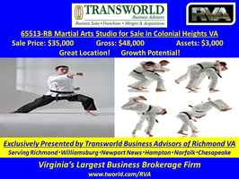 65513-RB Martial Arts Studio for Sale
