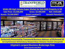65461-RB High Volume Super Market for Sale W/RE