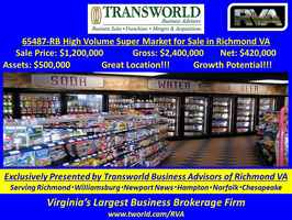 65487-RB High Volume Super Market for Sale