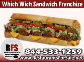 Which Wich Sandwich Franchise For Sale - Orem