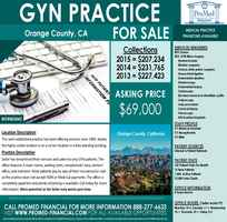 Gyn Practice For Sale