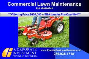 Commercial Lawn Service For Sale