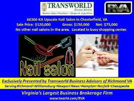 KA-66366 Upscale Nail Salon in Chesterfield, VA