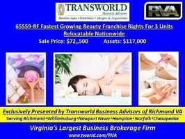 65559-RF Fastest Growing Beauty Franchise Rights