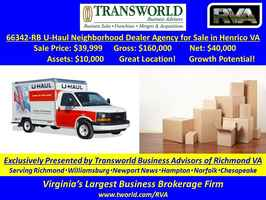 66342-RB U-Haul Neighborhood Truck Rental Agency