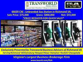 66639 CW - Unbranded Gas Station in Richmond VA