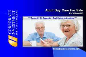 Adult Day Care For Sale in Lee County