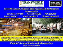 67444-RF successful western style restaurant