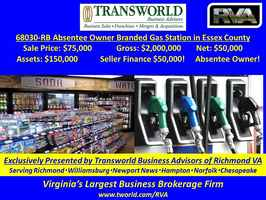 68030-RB Absentee Owner Branded Gas Station
