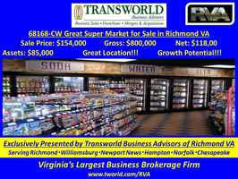 68168-CW Great Super Market for Sale in Richmond