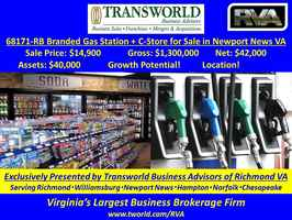 68171-RB Branded Gas Station + C-Store for Sale