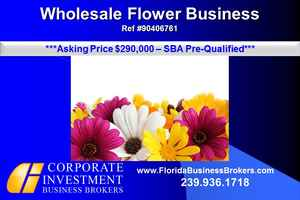 Commercial Distribution Wholesale Flower Business