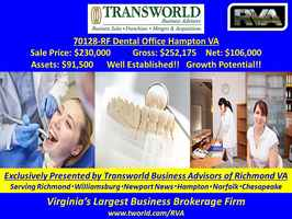 70128-RF Dental Office Hampton VA