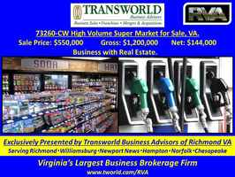 73260-CW High Volume Super Market for Sale.