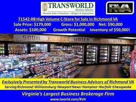 71542-RB High Volume C-Store for Sale in Richmond