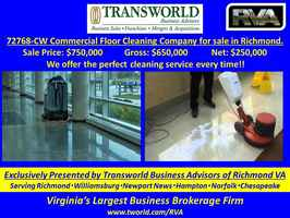 72768-CW Commercial Floor Cleaning Company