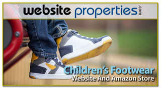 Children's Footwear Website and Amazon Store