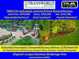 74026-CW-Landscaping, Lawncare & Snow Removal Bus.