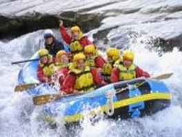 Whitewater Rafting in Western US Resort Area